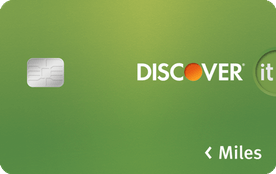 discover miles travel card