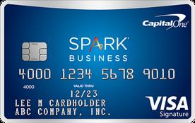 Capital One Spark travel card