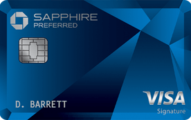 chase sapphire travel card