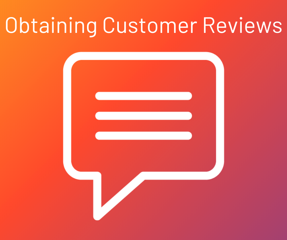 obtaining customer reviews