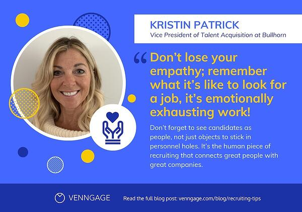 recruiting tips - kristin