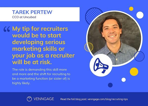 recruiting tips - tarek