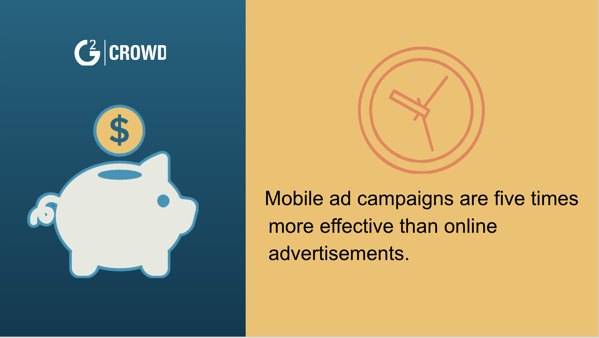 Mobile advertising is effective