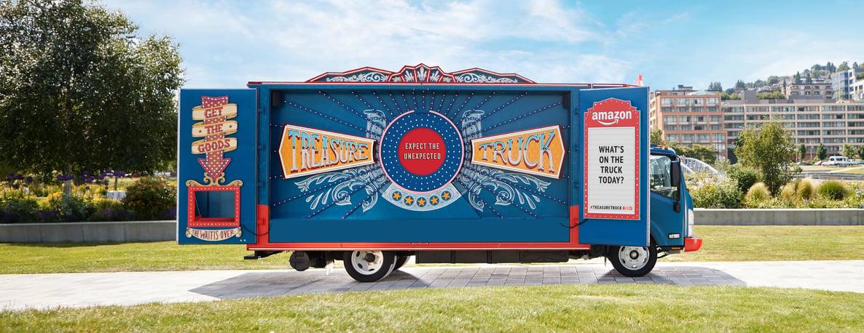 Amazon Treasure Truck: Discovering Deals on Wheels