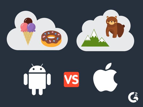 Android vs iOS updates