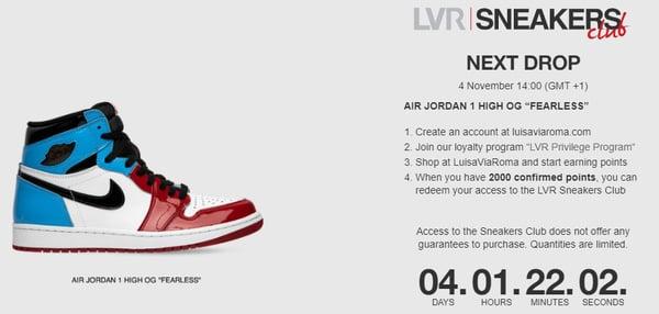 LVR sneakers club