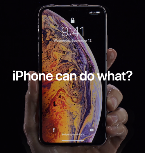 Apple Advertisement