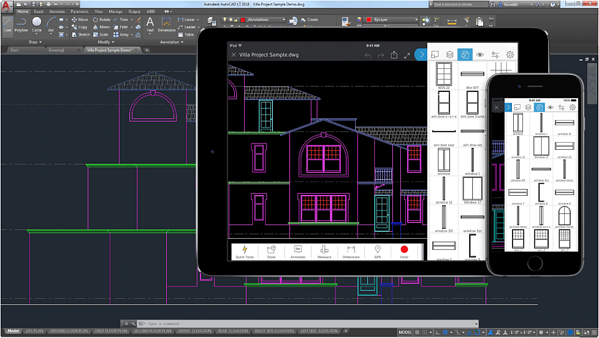AutoCAD LT floor plan software