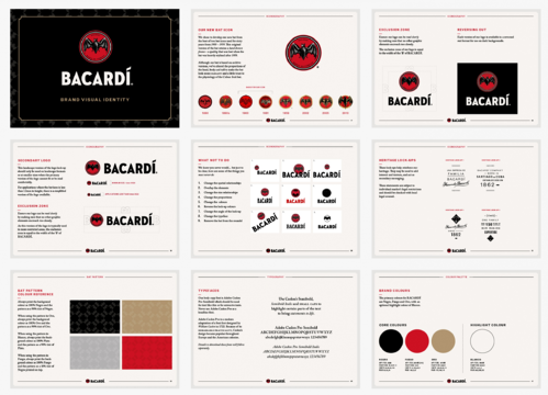 Bacardi Style Guide Example