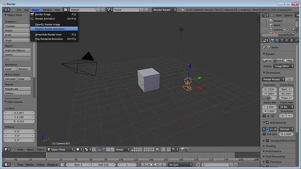 blender best free animation software