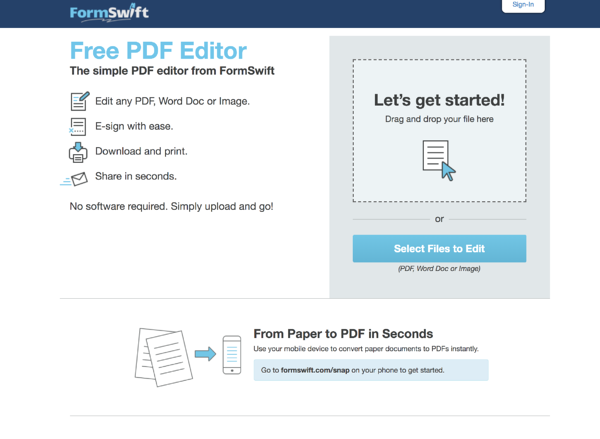10 Best Free PDF Editors for 2019
