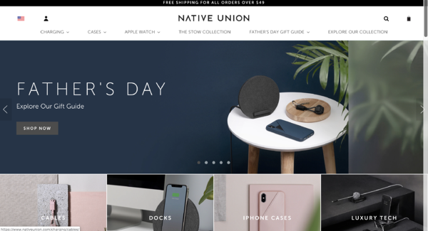 BigCommerce website example