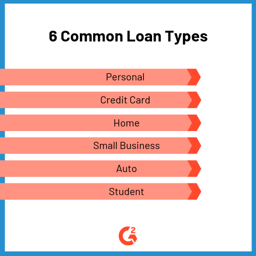 6 common loan types