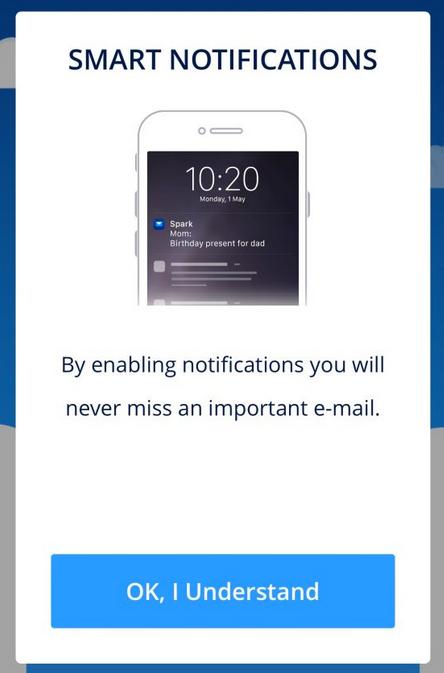smart notifications prompt