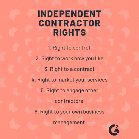independent contractor rights