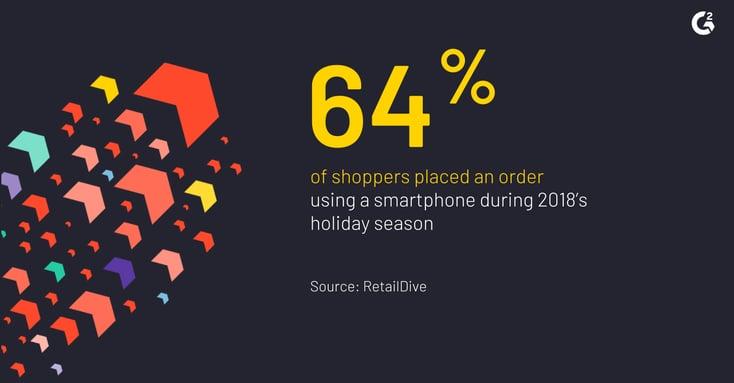 mobile shopping stat