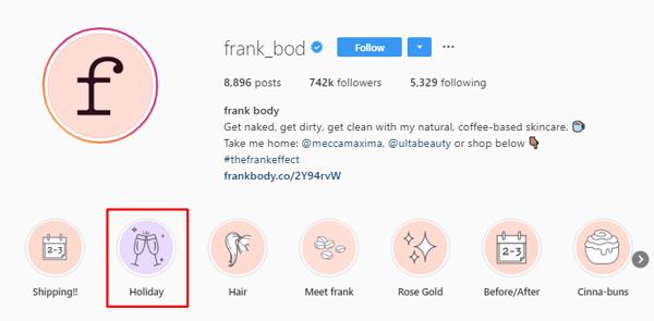 Frank Body holiday