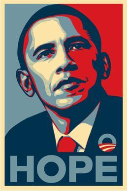Shepard Fairey's Hope poster suspected of copyright infringement