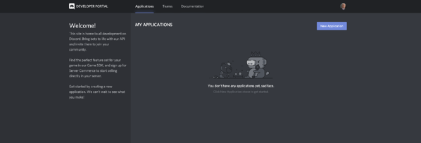 how to create a discord bot in your developer portal