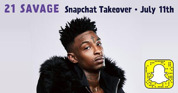 influencer takeover Snapchat
