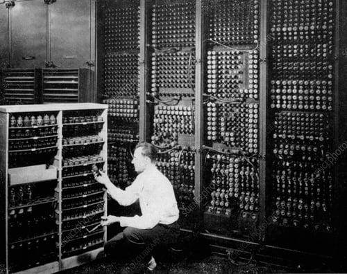 ENIAC Technician