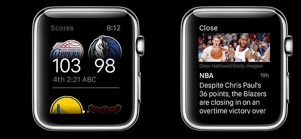 ESPN Apple Watch App