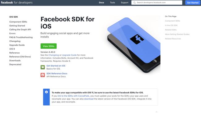 Facebook iOS SDK