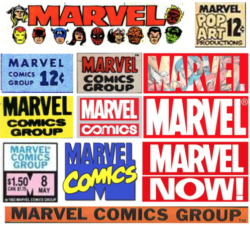marvel typography