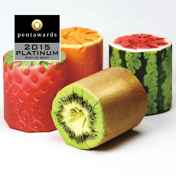 fruit toilet paper