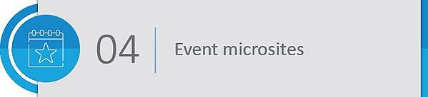 event microsites