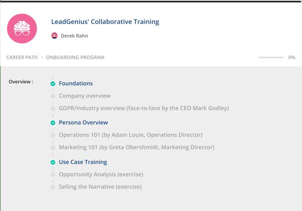 leadgenius collaborative training
