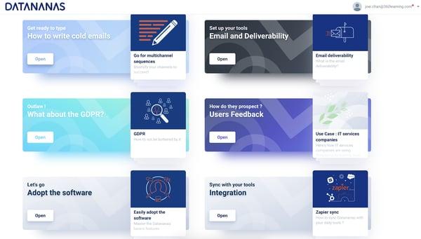 datananas sales engagement tool