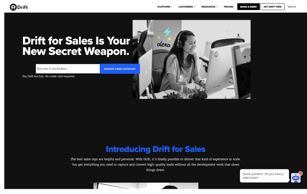 drift sales