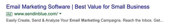 email marketing software sendinblue