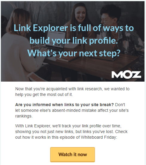 moz features