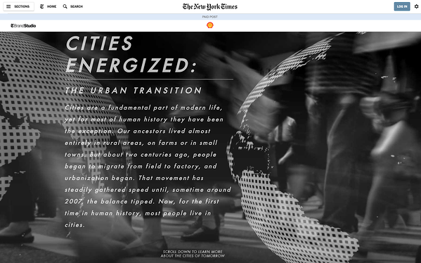cities energized