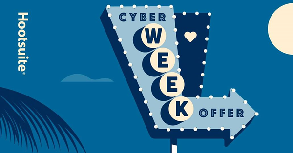 hootsuite cyberweek offer