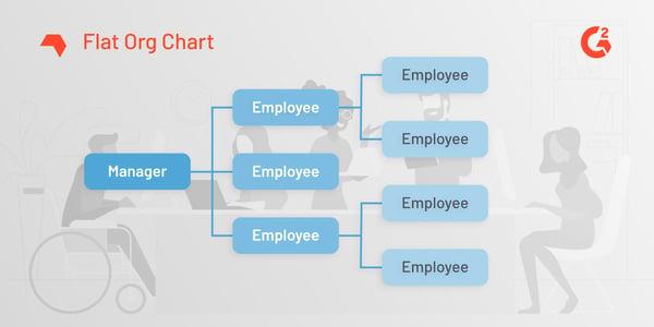 flat org chart