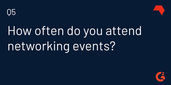 how often should you network