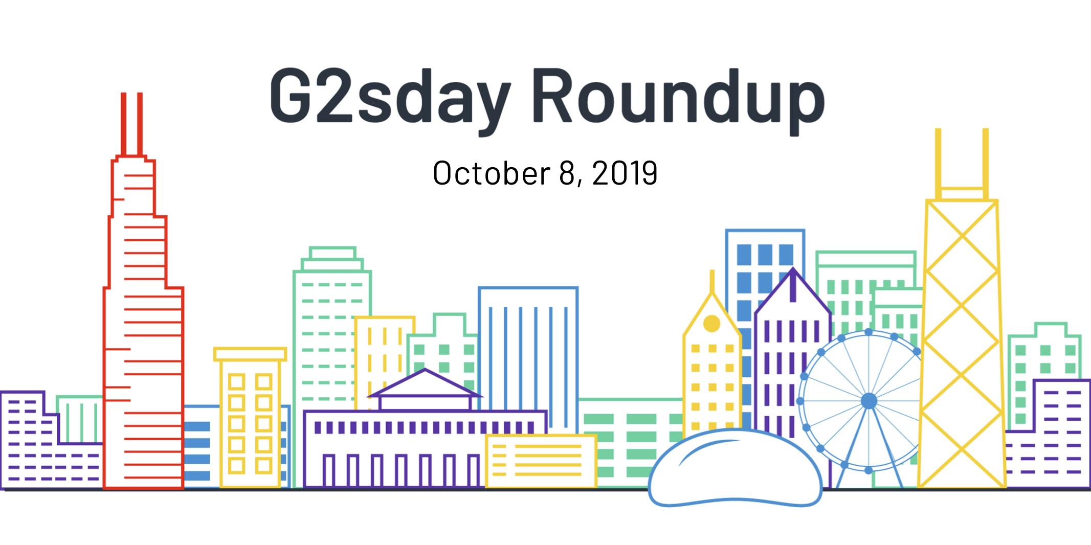 G2sday Round 10-8-19