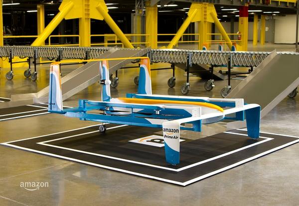Amazon drone sender