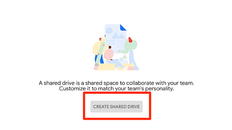 Create Shared Drive
