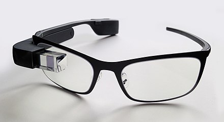 Google glass augmented reality device