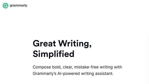 Grammarly value proposition