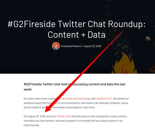 G2 Fireside roundup