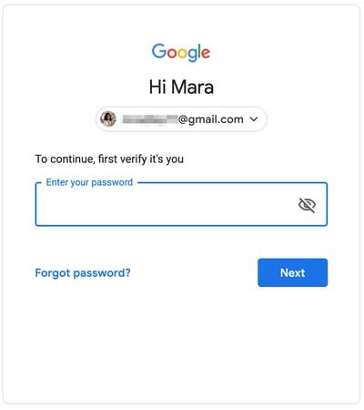 Verify Gmail Account