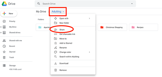 How to Share a Folder on Google Drive in 4 Easy Steps