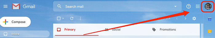 Profile Picture in Gmail