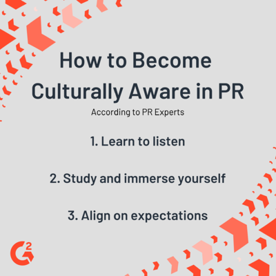 How to become culturally aware in PR