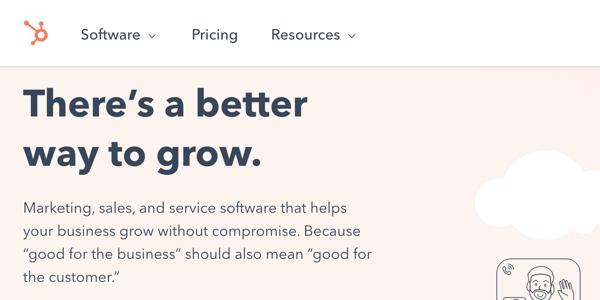 HubSpot value proposition